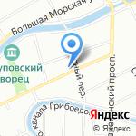 Юджин на карте Санкт-Петербурга