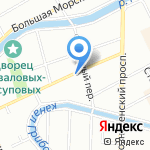 Здоровье на карте Санкт-Петербурга