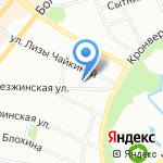 За ёлкой! на карте Санкт-Петербурга