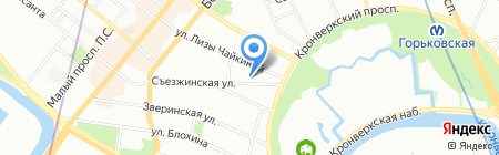 Мосса Инжиниринг на карте Санкт-Петербурга