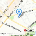 Энергогазмонтаж на карте Санкт-Петербурга