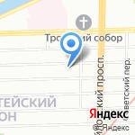 Новый Город на карте Санкт-Петербурга