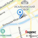Эльф на карте Санкт-Петербурга