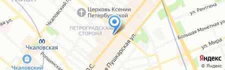 Marc Cain на карте Санкт-Петербурга