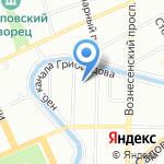 Fasta на карте Санкт-Петербурга