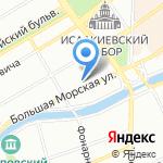 Содис Строй на карте Санкт-Петербурга