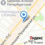 DressBurg на карте Санкт-Петербурга