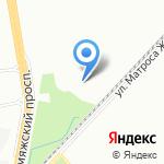 Невский Верфит на карте Санкт-Петербурга