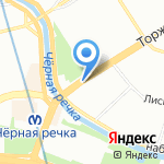 Дубль Два на карте Санкт-Петербурга