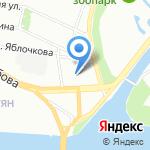 Северо-Западное Управление Антикризисных Проблем на карте Санкт-Петербурга