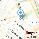 SunDay на карте Санкт-Петербурга