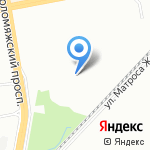 Колбасный дом на карте Санкт-Петербурга