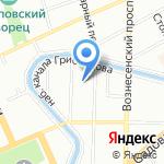 Ветеринарная станция Адмиралтейского на карте Санкт-Петербурга