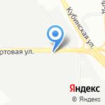 Крокус на карте Санкт-Петербурга