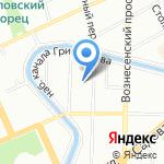 Деловая мебель на карте Санкт-Петербурга