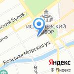 АКБ Трансстройбанк на карте Санкт-Петербурга