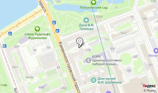 Искусство веера. Схема проезда в Санкт-Петербурге