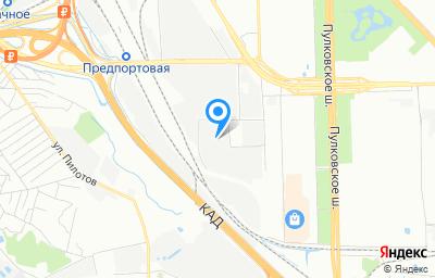 Местоположение на карте пункта техосмотра по адресу г Санкт-Петербург, проезд 6-й Предпортовый, д 10 литер б