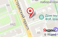 Схема проезда до компании Независимый Ресторанный Гид в Санкт-Петербурге