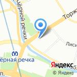 Сеть мастерских по ремонту цифровой техники на карте Санкт-Петербурга