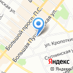 Институт электрокаплеструйных технологий на карте Санкт-Петербурга