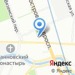 Институт спортивной и восстановительной медицины на карте Санкт-Петербурга