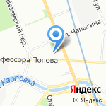 Exiclub на карте Санкт-Петербурга