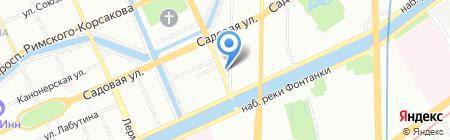 Pastila на карте Санкт-Петербурга