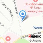 Автошкола №3 на карте Санкт-Петербурга