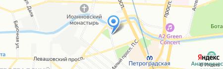 ЗРЕНИЕ на карте Санкт-Петербурга