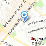 Ностальгия по Федюкину на карте Санкт-Петербурга