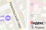 Схема проезда до компании Кабинет восточных практик в Санкт-Петербурге