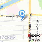 Автоэлектрик на карте Санкт-Петербурга