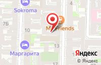 Схема проезда до компании Менфорд в Санкт-Петербурге