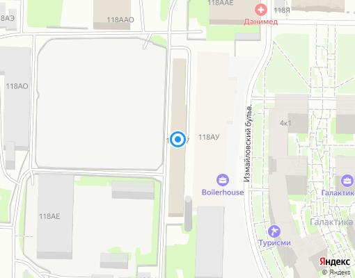 Управляющая компания «КомфортСервис» на карте Санкт-Петербурга