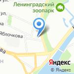 Хобби Остров на карте Санкт-Петербурга