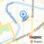 Следственный отдел по Адмиралтейскому району на карте Санкт-Петербурга