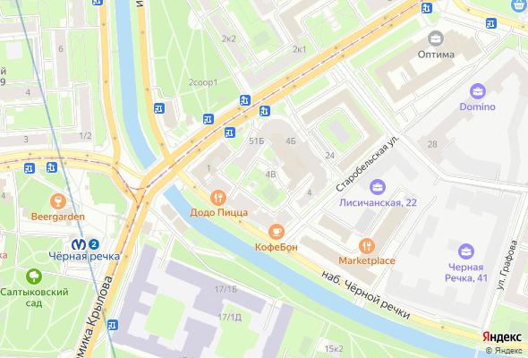 жилой комплекс Дом у Черной Речки
