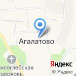 Администрация сельского поселения Агалатово на карте Санкт-Петербурга