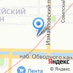 Нидус на карте Санкт-Петербурга