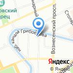 Понч на карте Санкт-Петербурга