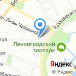 Квартира №4 на карте Санкт-Петербурга