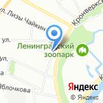 Libra на карте Санкт-Петербурга