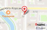 Схема проезда до компании Эм Ай Джи в Санкт-Петербурге