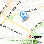 Либерально-Демократическая Партия России на карте Санкт-Петербурга