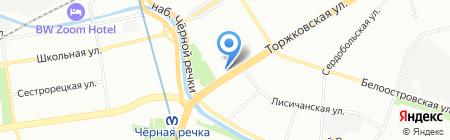 Центр цифровых технологий СПб на карте Санкт-Петербурга