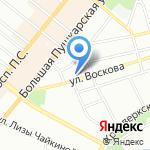 М-ПРОФИЛЬ на карте Санкт-Петербурга
