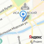 ПРОЕКТ-С на карте Санкт-Петербурга