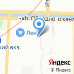 Институт строительных проектов на карте Санкт-Петербурга