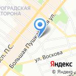 МедРивер на карте Санкт-Петербурга